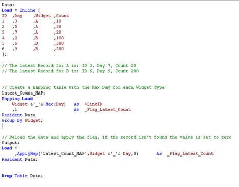 QlikView Code