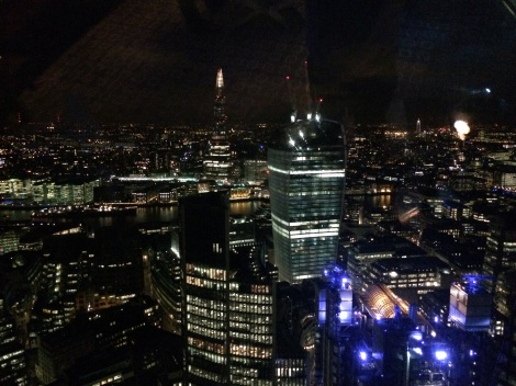 View from the 42nd floor of the Gherkin