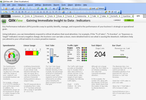 QlikView Data Visulization