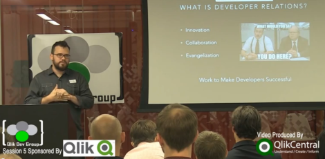 QlikDevGroup - Brian Munz, Developer Relations Team