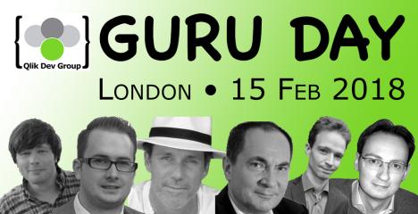 QlikDevGroup Guru Day 2018